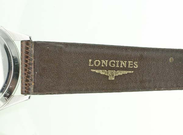 Genuine Longines leather strap
