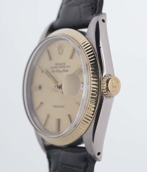 Rolex Air King Date crown