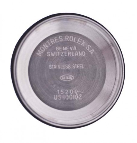 Rolex USA service markings