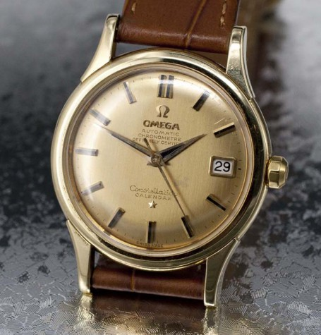 Vintage Omega Constellation solid gold
