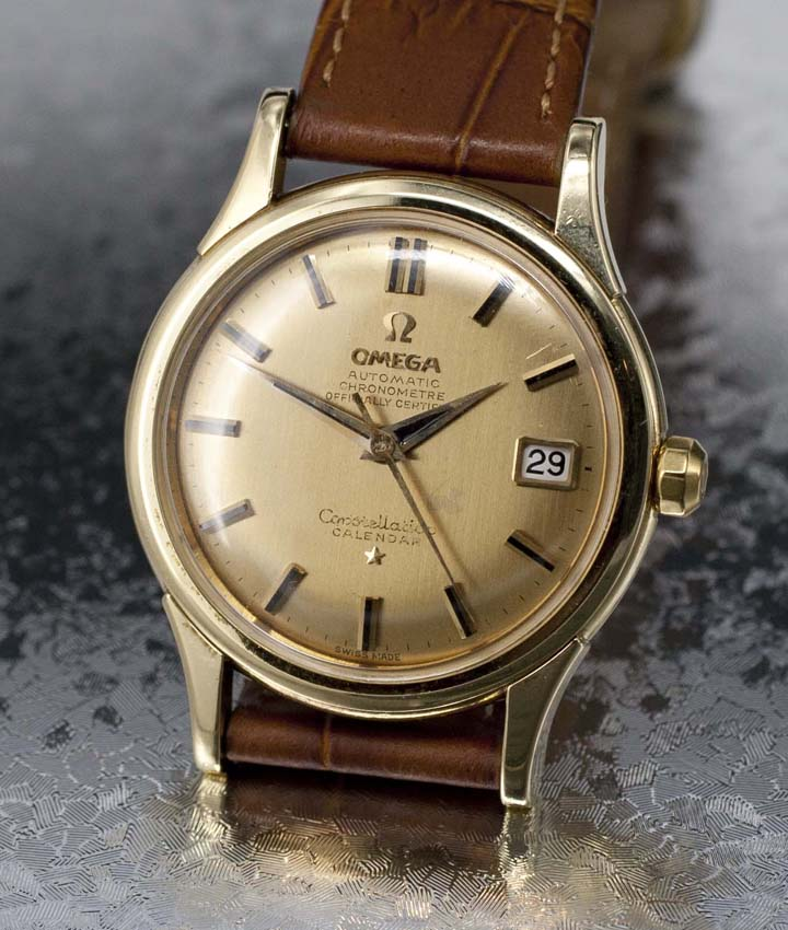 Vintage Watches For Sale >> Vintage Omega Constellation 2943 Sc 18k Yellow Gold For Sale