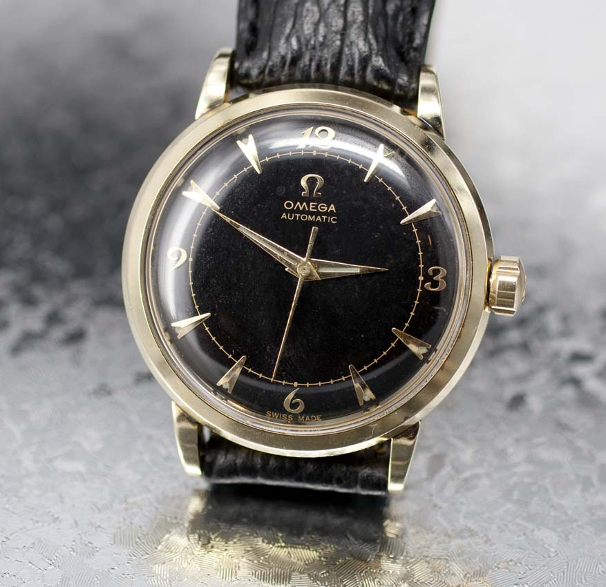 Vintage omega bumper automatic 1953 used and vintage watches for sale for Omega watch vintage