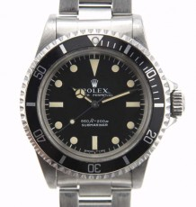 Vintage Rolex 5513 serif dial