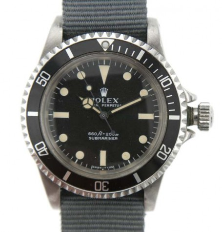 Rolex original 702 crown and tube