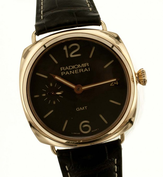 Used Panerai 3 day GMT PAM 421