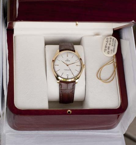 Omega Master Co-Axial Chronometer in box