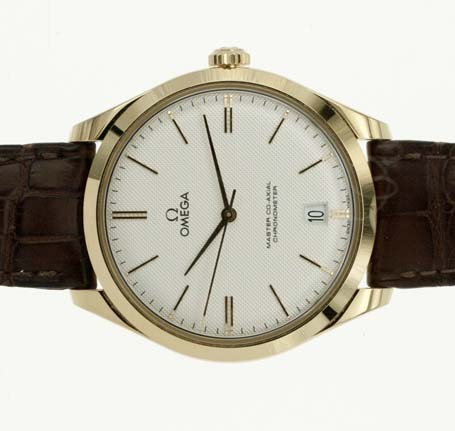 Detailed photo of Omega Master Co-Axial Chronometer