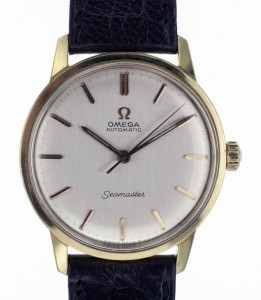 Vintage Omega Seamaster gold filled watch
