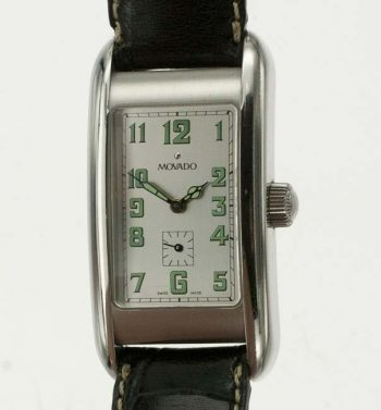 Movado Kurba rectangular wrist watch