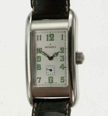 Movado Kurba rectangular wrist watch