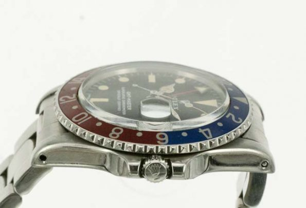 Rolex GMT 1675 crown profile