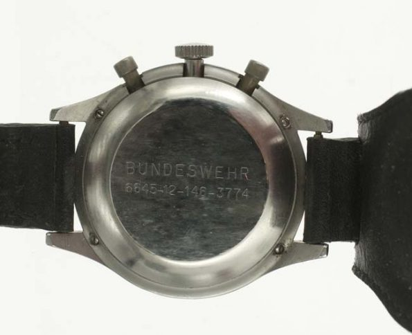 Heuer Bund chrono issue markings