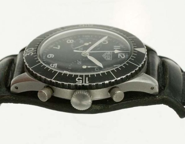 Heuer Bund chrono crown profile