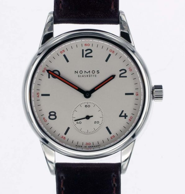 Nomos large dial photo