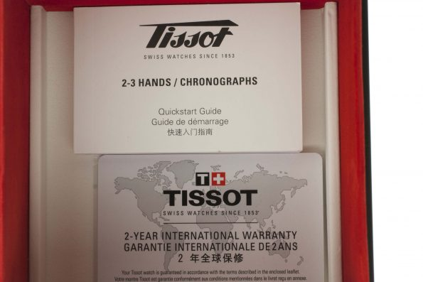 Tissot Heritage 1973 papers