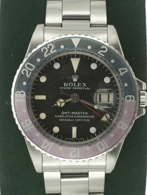 Rolex 1675 GMT vintage watch