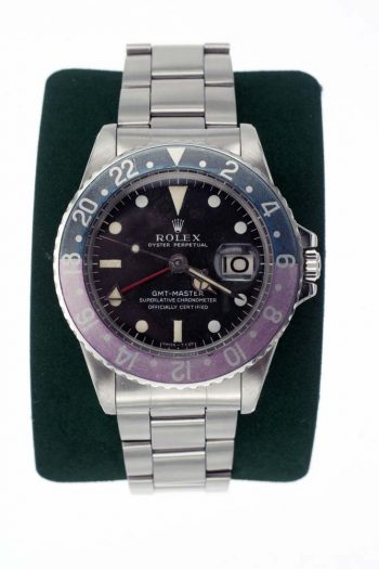 Rolex GMT vintage pilots watch