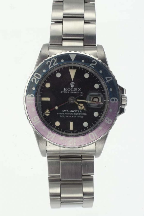 Vintage Rolex GMT 1675 whole view