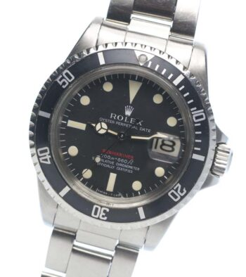 Rolex Red Submariner 1680 mk 2